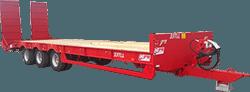 jpm 33 ton triaksel henger